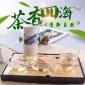 功夫茶具玻璃双耳泡茶器透明家用耐热泡红茶茶具陶瓷过滤茶壶批发