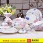 骨瓷餐具套装 景德镇陶瓷碗盘